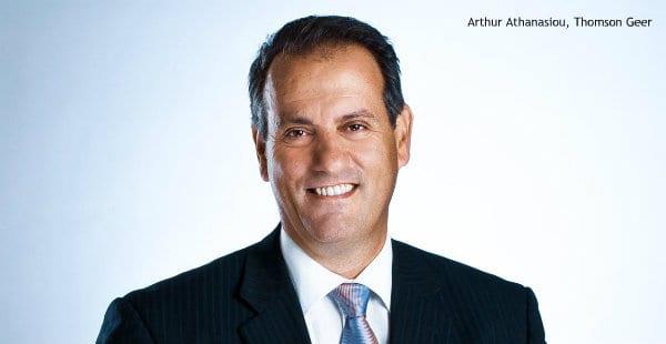 Arthur Athanasiou, Thomson Geer