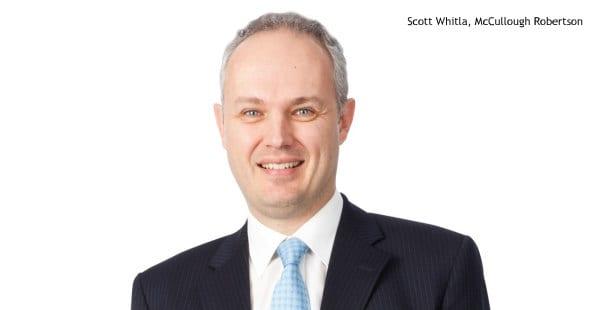 Scott Whitla, McCullough Robertson