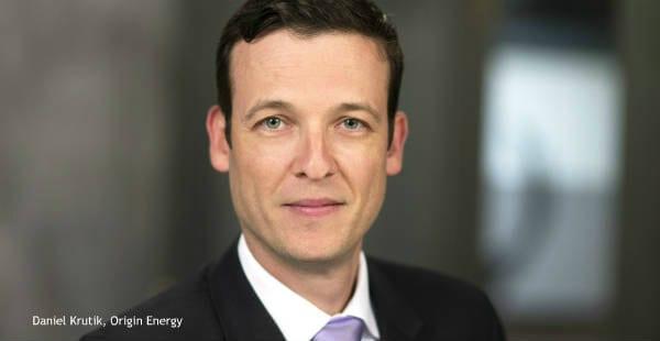 Daniel Krutik, Origin Energy