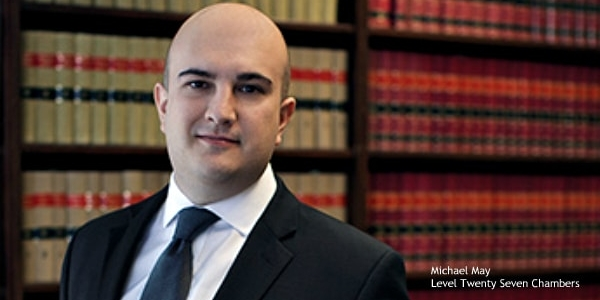 Michael May, barrister