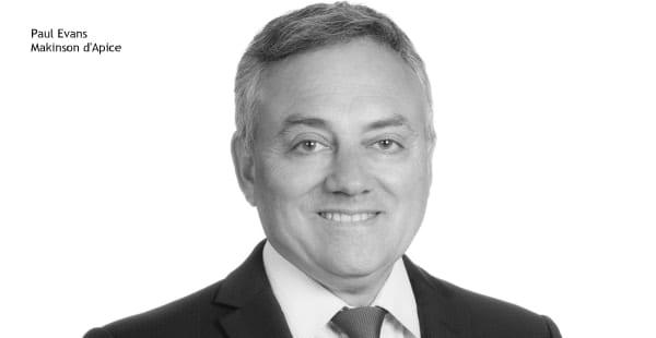 Paul Evans, Makinson d'Apice