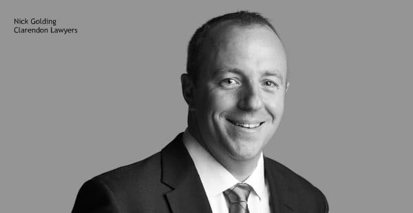 Nick Golding, Clarendon Lawyers