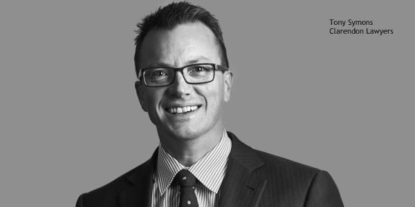 Tony Symons, Clarendon Lawyers