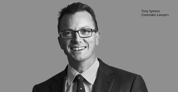 Tony Symons, Clarendon Lawyers