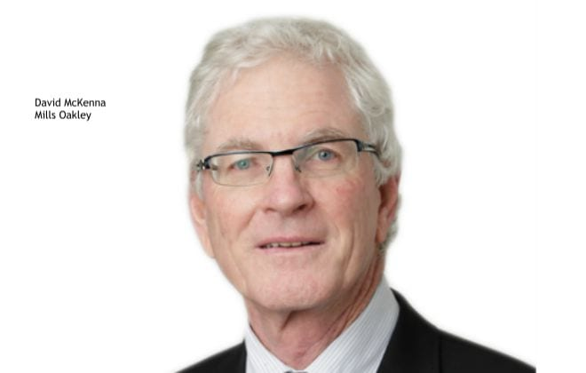 David McKenna, Mills Oakley