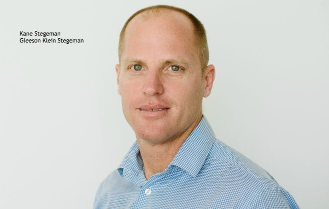 Kane Stegeman, Gleeson Klein Stegeman