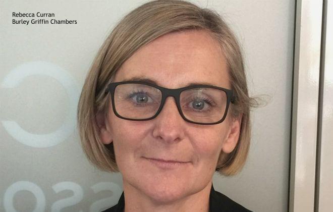 Rebecca Curran, Barrister