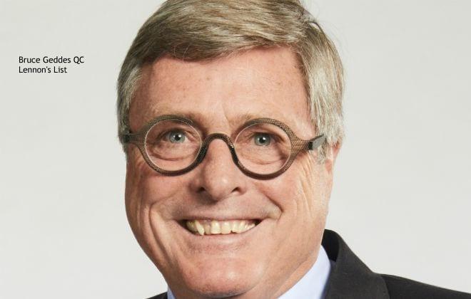 Bruce Geddes QC