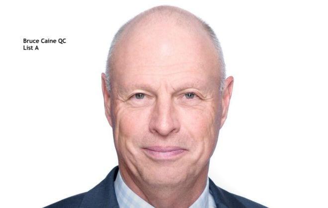 Bruce Caine QC