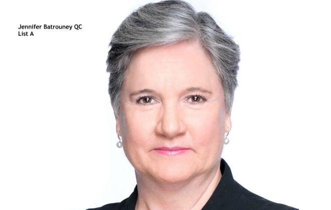 Jennifer Batrouney QC