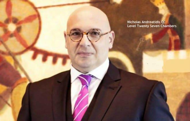 Nicholas Andreatidis QC